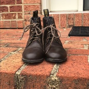 Saxon equestrian lace paddock boots, gently used.